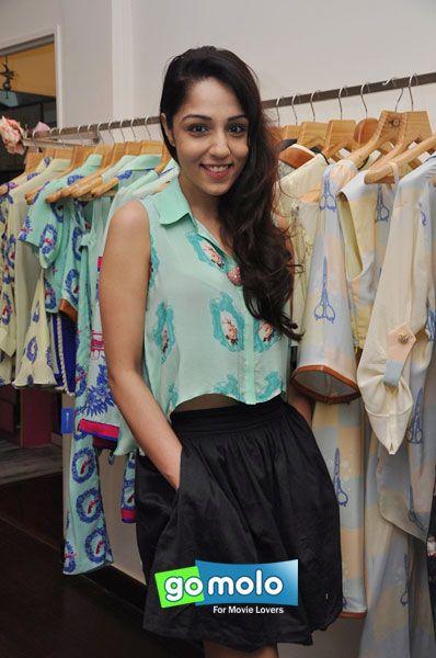 Lekha Washington at Nisha Sainani's summer collection preview in Mumbai