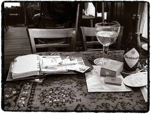 "My mess... ;^) - Café ""Het Bolwerk"", Enschede. | Flickr - Photo Sharing!"