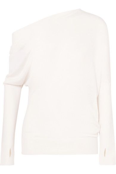 ae99235fd17 TOM FORD - One-shoulder cashmere and silk-blend sweater in 2019 ...