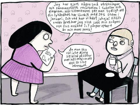 Nina Hemingssons geniale striper