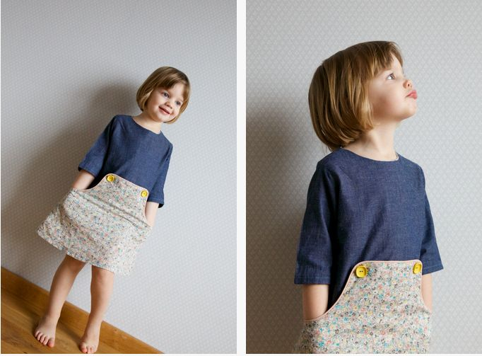 :: paunnet ::: Louisa dress pattern by Compagnie M.