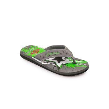 Ανδρικές Σαγιονάρες 17/067 Γκρι #grey #green #black #white #star #sandals #olympic #stores #summer #men #fashion