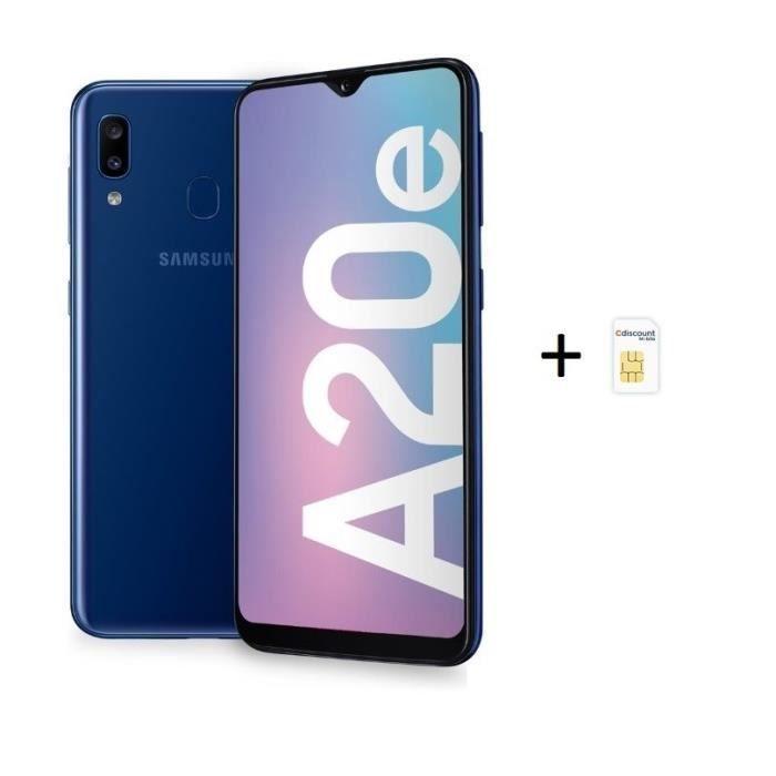 Samsung Galaxy A20e Noir Carte Sim Cdiscount Mobile En 2020