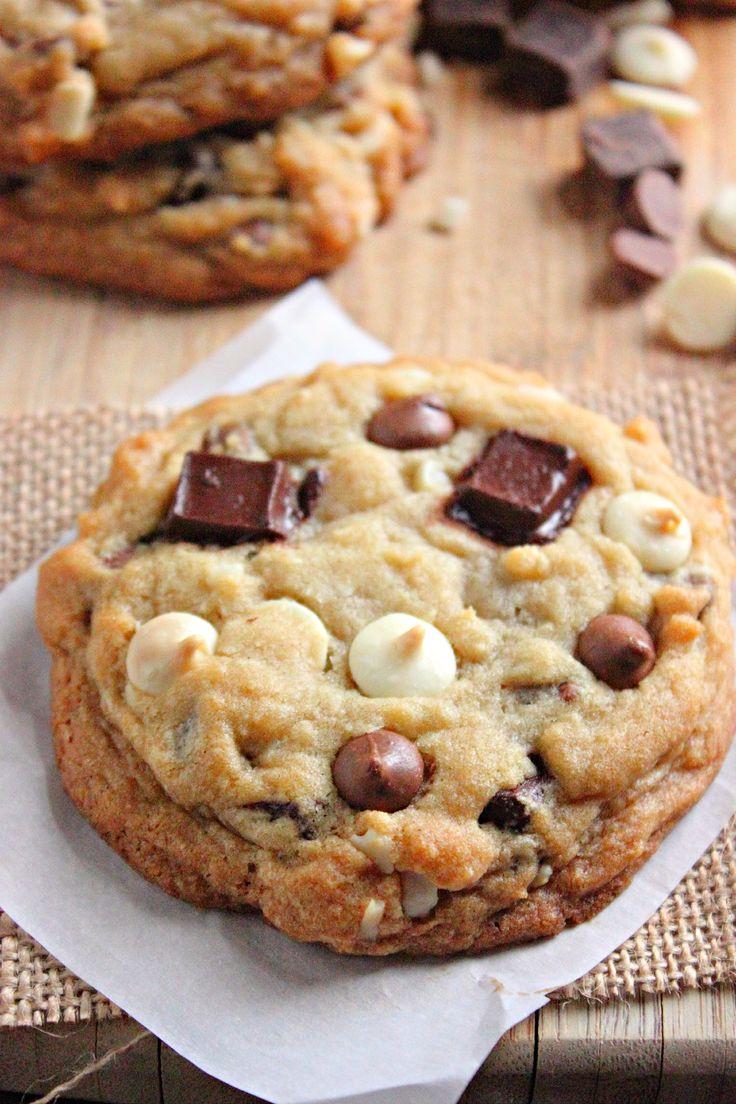 25+ best Triple Chocolate Chip Cookies ideas on Pinterest ...