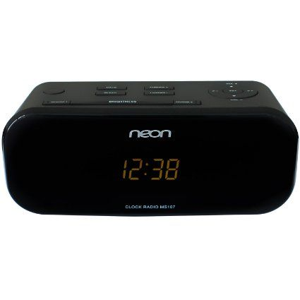 Neon Electronic® MS107-12 Micro Musik System mit Dual-alarm