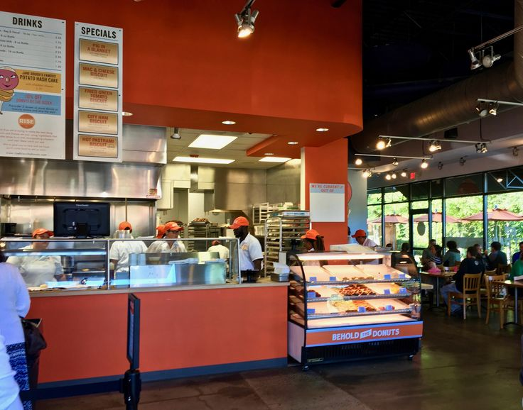 Inside Rise Biscuit Donuts in Raleigh NC http://www.placesiveeaten.com/blog/rise-biscuits-donuts-in-raleigh