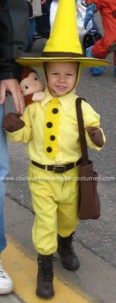 138 best diy halloween costumes images on pinterest diy halloween coolest man in the yellow hat from curious george costume solutioingenieria Choice Image
