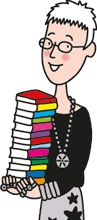 Jacqueline Wilson's website. Her books are full of adventure that adults and children can have fun reading together.