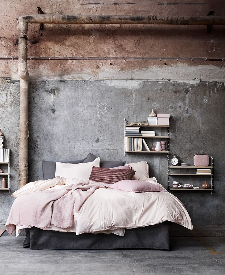 industrial style bedroom 25 best distressed walls ideas on faux 11892