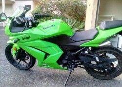 Kawasaki Ninja 250 2008 Green