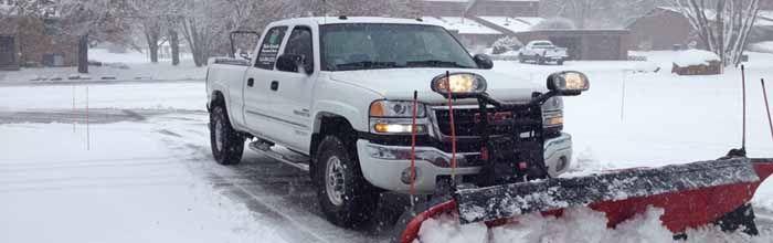 Snow Plowing in Burnsville