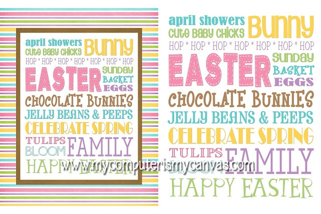 Free Easter printable for the first 200!