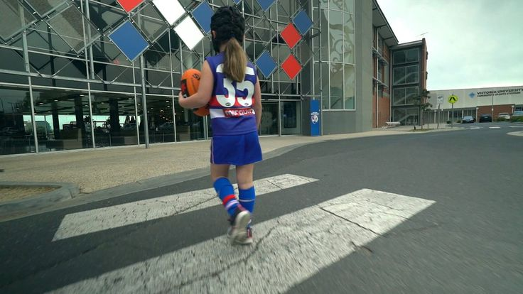 "NAB on Twitter: ""Mini Caleb Daniel goes on a VIP tour of the Kennel with her favourite player, big Caleb Daniel. https://t.co/3jhN6OE2Ef"""