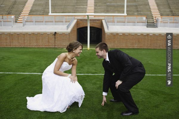 So awesome - New Wedding Themes 2016 Football wedding theme | CHECK OUT MORE AWESOME PICTURES OF TASTY New Wedding Themes 2016 HERE AT WEDDINGPINS.NET | #weddingthemes2016 #weddingthemes #themes #2016 #boda #weddings #weddinginvitations #vows #tradition #nontraditional #events #forweddings #iloveweddings #romance #beauty #planners #fashion #weddingphotos #weddingpictures