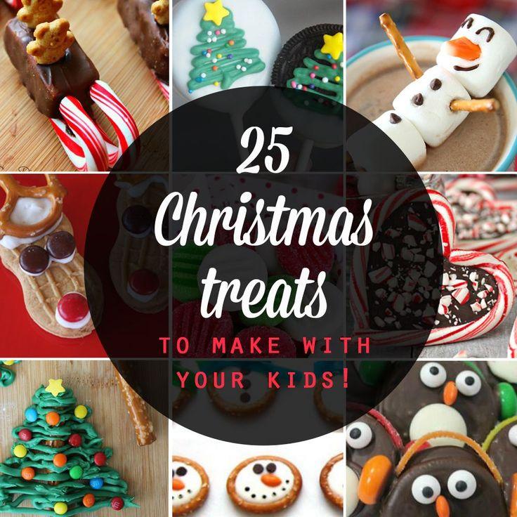 25 adorable Christmas treats to make with your kids
