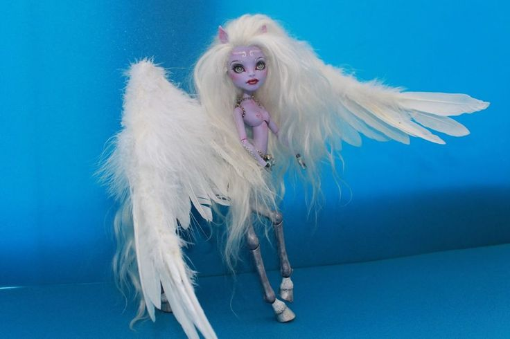 OOAK Monster High Avea repaint by Nick-Ole