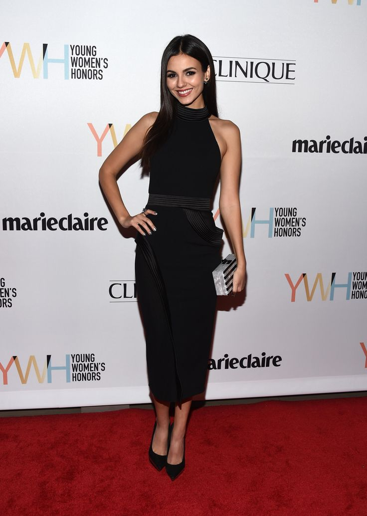 Victoria Justice - 1st Annual Marie Claire Young Women's Honors in Marina Del Rey 11/19/16