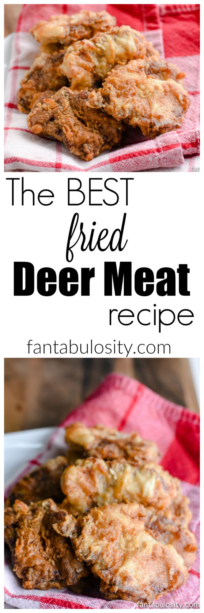 Game to cook - Fried Deer Meat