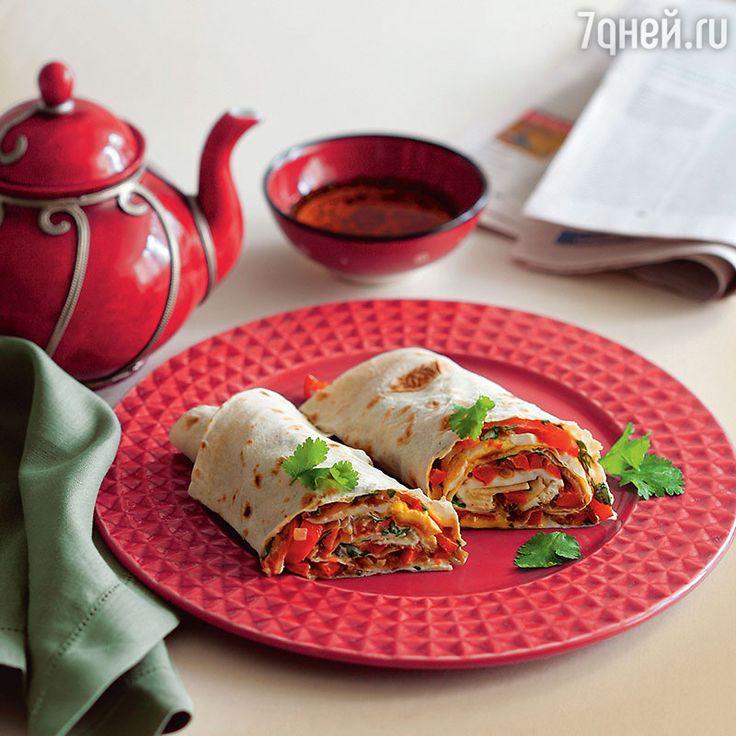 Рецепты от Юлии Высоцкой: лаваш сосладким перцем, китайская капуста сизюмом и томленые сливы совзбитыми сливками - 7Дней.ру