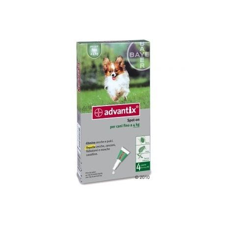 Elimina pulci e zecche, ed ha un effetto repellente nei confronti di zecche, zanzare e flebotomi. In comode pipette, per un'applicazione facile e precisa. Per cani fino a 4 kg di peso.  10 ArticoliIn Stock 26,60 €. #antizecche #cani