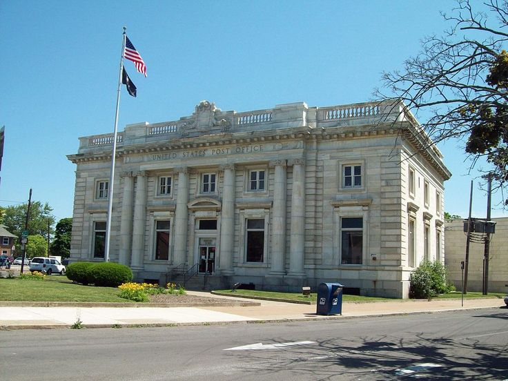 Us Post Office Niagara Falls Main Is A Historic Post Office Building Located At Niagara Falls I Niagara County Post Office National Register Of Historic Places
