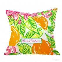 New custom lilly pulitzer Orange Pillow Cases