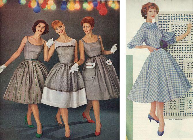 Картинки по запросу мода середина 20 века