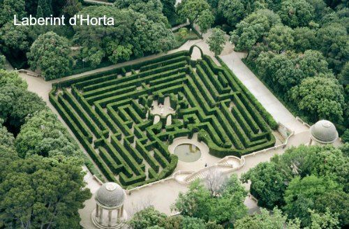 Horta's most famous attraction is the wonderful Parc del Laberint, which is based around a maze built in 1794 on land belonging to the Marquis of Alfarràs and is the oldest surviving park in Barcelona.