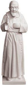 Composite Marble Saint Pio Statue