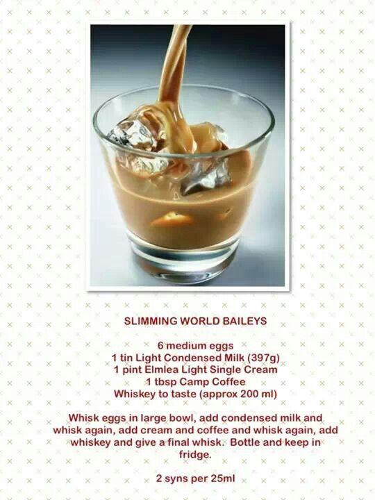 Slimming World Baileys