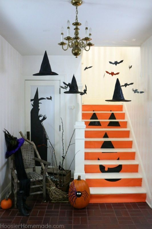 1471 best Halloween decorating images on Pinterest Halloween - halloween decorations at home