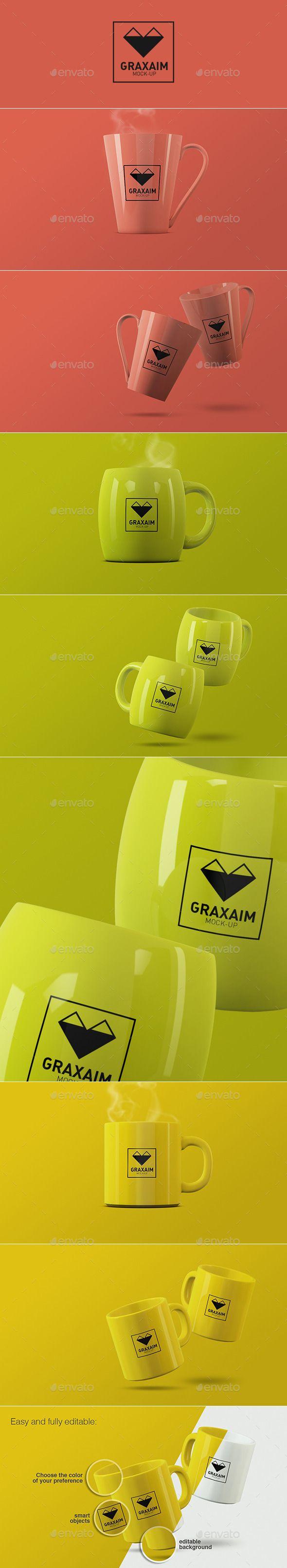 Mug – Cup Mock-ups (Stationery)