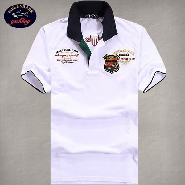 cheap ralph lauren online Paul & Shark Men's Polo Shirt White Pique http://www.poloshirtoutlet.us/