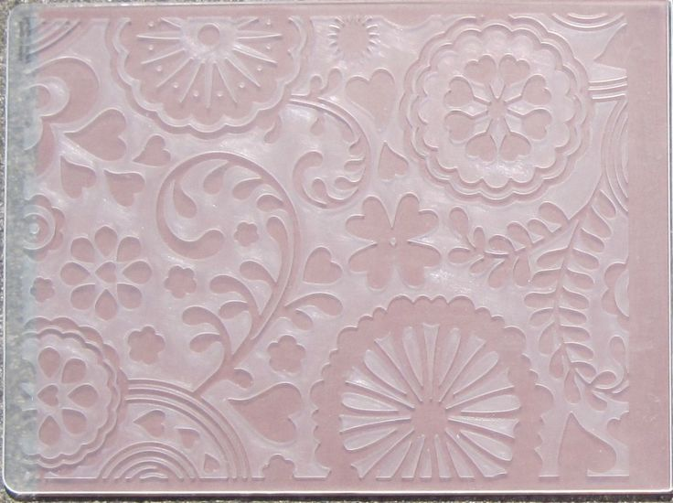 Different ways to use embossing folders - good tutorials
