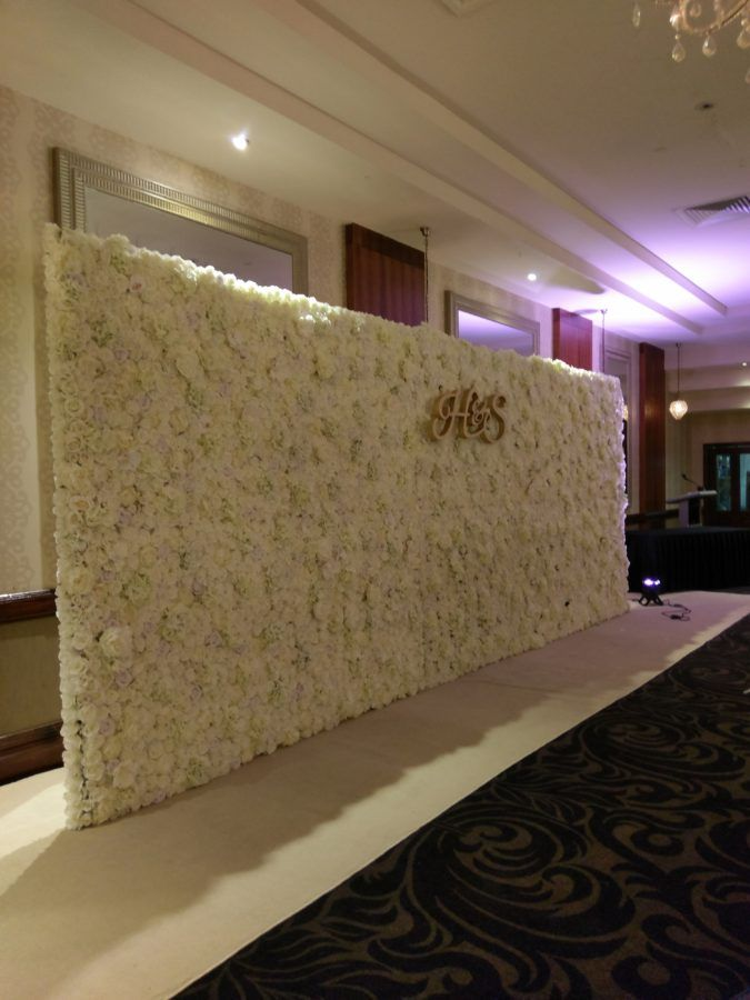 Ivory Bliss Flower wall – The Flower Wall Sydney