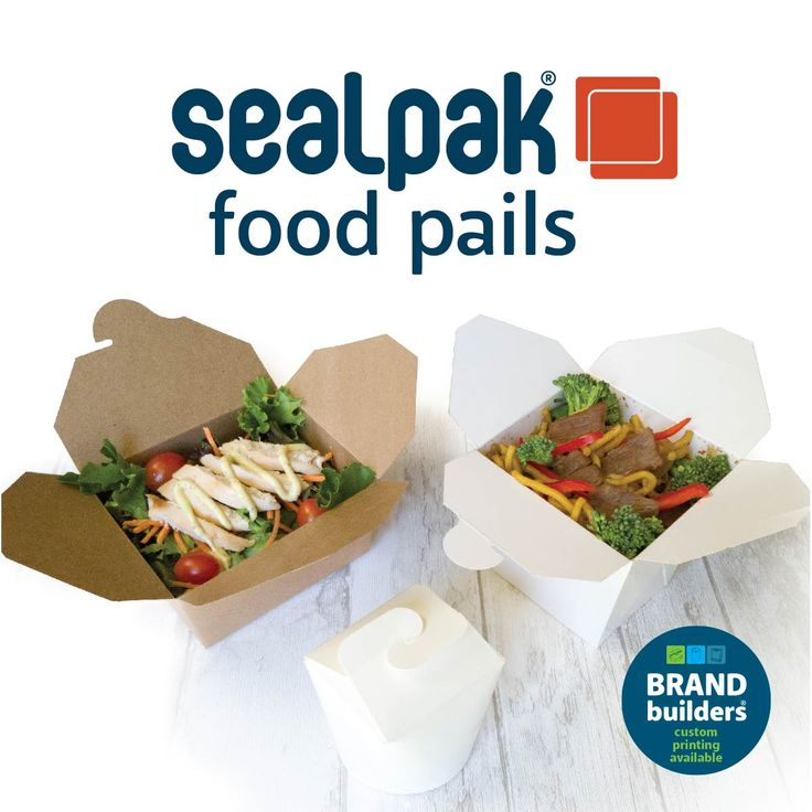 Ordering takeaway food has become a popular trend. If you serve food such as noodles and curries, make it easy for customer to grab and go. Our SealPak® food pails are made with a leak-proof base to contain sauces and juices in wet meals. #mealpails #foodpails #takeawaybox #papercontainers