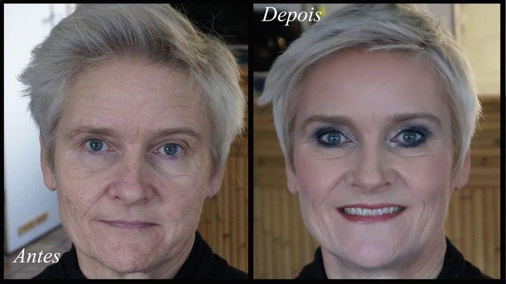 Maquiagem para Pele Madura - Quebrando Regras!!! (Contorno & Iluminação)