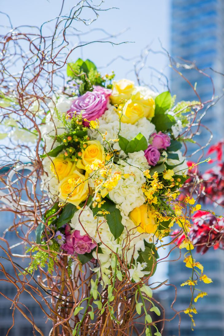 67 best spring wedding ideas images on pinterest romantic weddings bright spring wedding ideas yellow roses and hydrangea wedding arch decor junglespirit Image collections