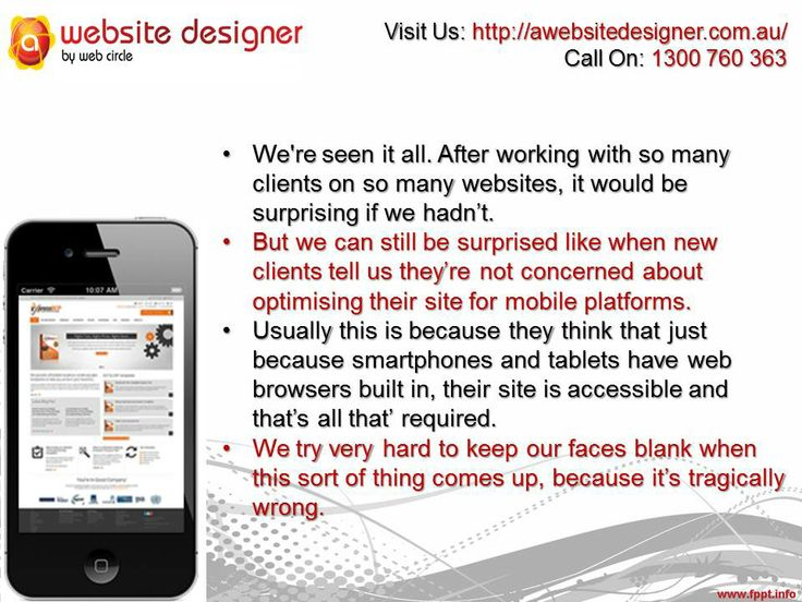We're seen it all. After working with so many clients on so many websites, it would be surprising if we hadn't.