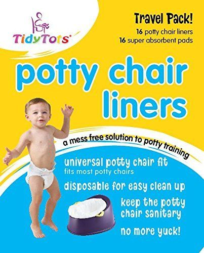 Tidy Tots Disposable Potty Chair Liners - Travel Pack - Fits All Potty Chairs - 16 Liners and 16 Super-absorbent Pads, http://www.amazon.com/dp/B00764JGQM/ref=cm_sw_r_pi_awdm_xs_sJLmyb8Q499TB
