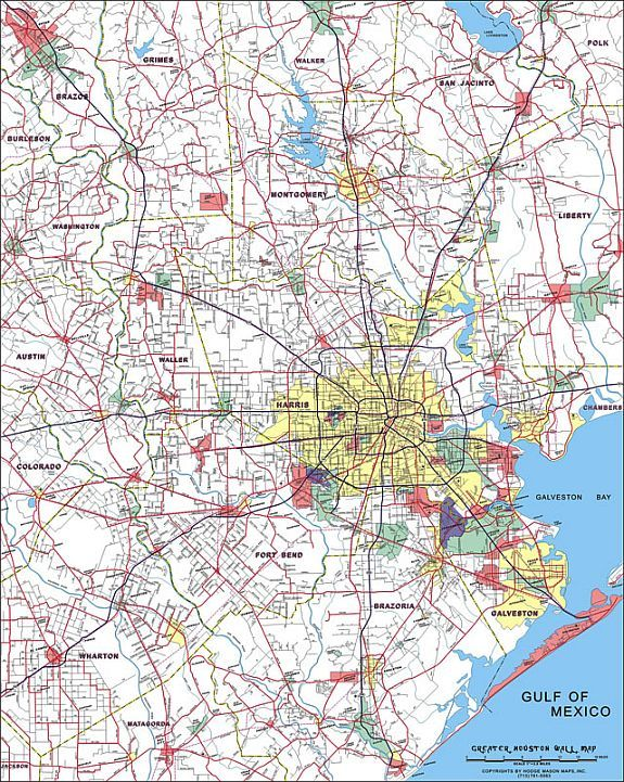 HoustonGalveston area TravelTime maps 19691998 History of