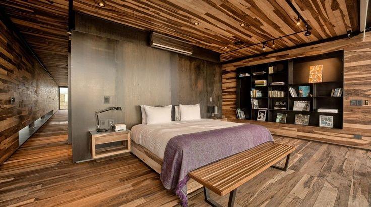 Κρεβατοκάμαρα από ξύλο