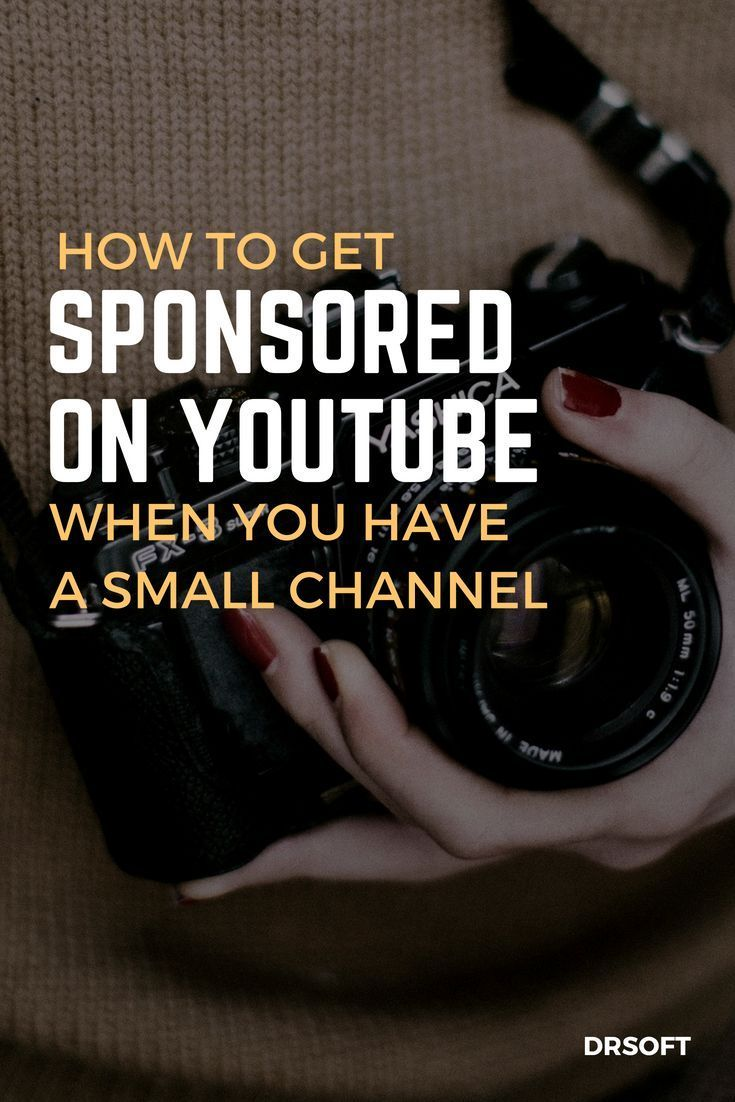 Youtube Sponsorship For Small Channels All You Need To Know Youtube Marketing Tools Market Y Video Marketing Youtube Youtube Sponsorship Youtube Marketing