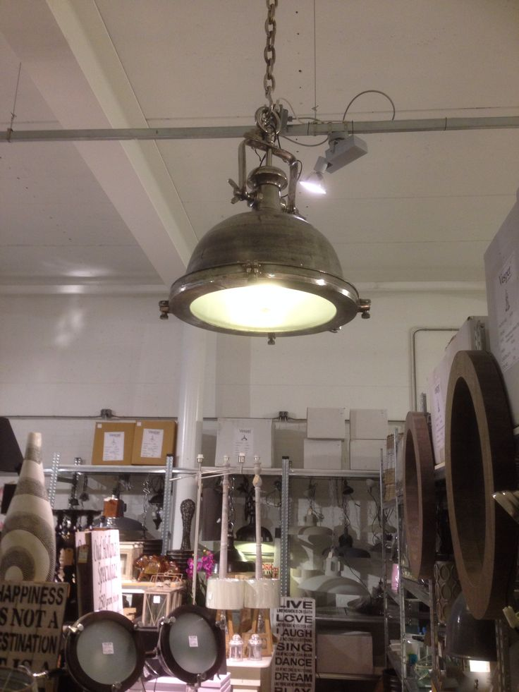 super grote stoere lamp •78 cm