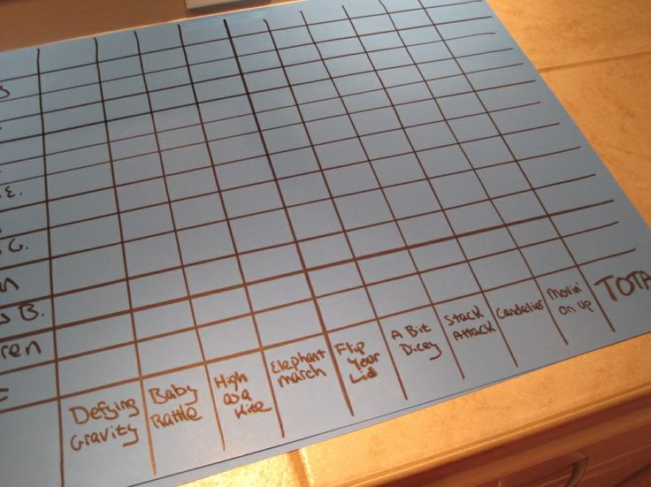 Minute to Win It: game ideas for adults