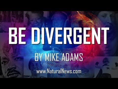 Be Divergent song + music video from Mike Adams the Health Ranger