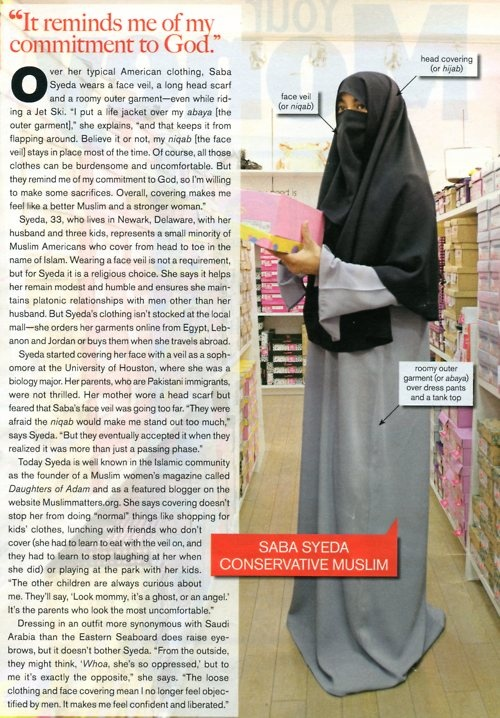 Article on niqab in America. Also, why the niqab IS a completely valid and religious head garment that should be allowed in free society. #antiharper #abc