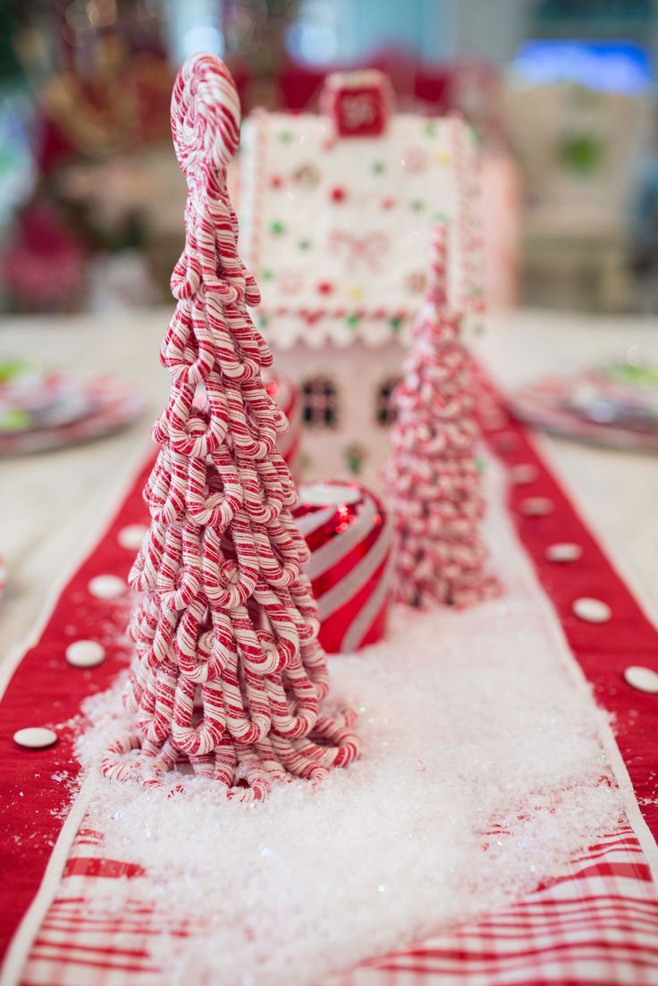Candy Cane Christmas decorations are the perfect way to bring in traditional red and white for the holiday season!