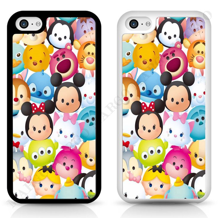 Cover Case Disney Tsum Tsum for iPhone Samsung Sony Plush Mini Toy Mickey in…