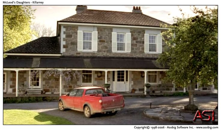 LOVE the Killarney house on McLeod's Daughters.